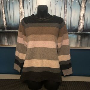 Mansted100% Lambswool Stripe Sweater